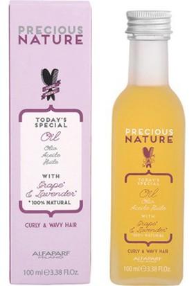 Alfaparf Precious Nature Kıvırcık ve Dalgalı Saçlar Için Bakım Yağı 100 ml