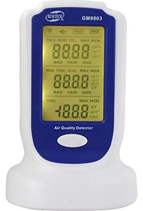Benetech GM8803 Hava Kalite Ölçüm Cihazı Pm2.5 PM10