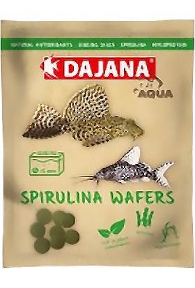 Dajana Spirulina Wafers Dip Balıkları İçin Bitkisel Yem 80 Ml 25 Gr