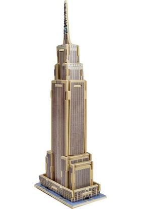 Robotime 3D Ahşap Puzzle Empire State Binası- MJ203
