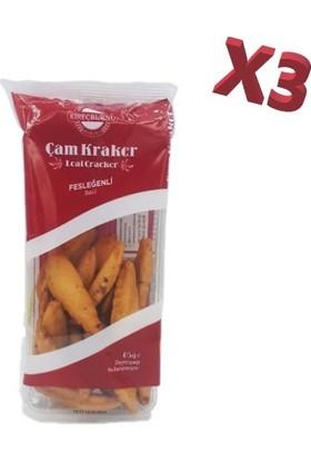 Kireçburnu Fırını Fesleğenli Çam Kraker 85 gr x 3'lü