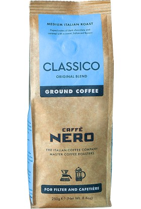 Caffe Nero Classico Ground Coffee Öğütülmüş Filtre Kahve - 250 gr
