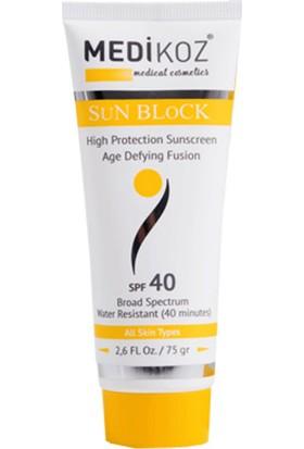 Medikoz Sun Block Spf 40- Güneş Koruyucu / Renksiz