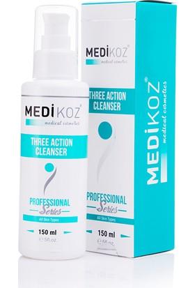 Medikoz Three Action Cleanser- 3 Etkili Yüz ve Vücut Temizleyicisi