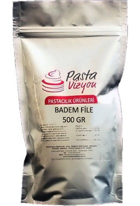 Pastavizyon File Badem 500 gr
