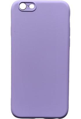 mTnCover Apple Apple iPhone 8 Soft Silikon Kılıf Lila