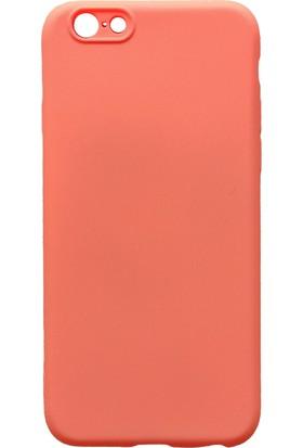 mTnCover Apple Apple iPhone 6s Plus Soft Silikon Kılıf Nar Çiçeği