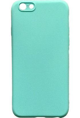 mTnCover Apple Apple iPhone 6 Soft Silikon Kılıf Su Yeşili