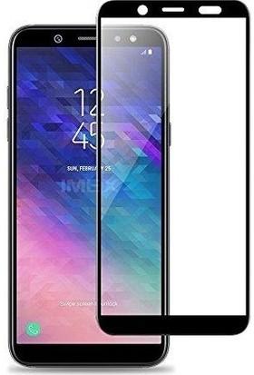 Telbor Samsung Galaxy A6 2018 Tam Kaplayan Ekran Koruyucu Cam