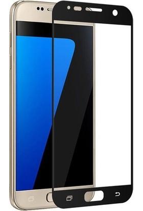 Telbor Samsung Galaxy J7 Prime Tam Kaplayan Ekran Koruyucu Cam