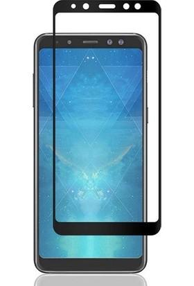 Telbor Samsung Galaxy A8 2018 Tam Kaplayan Ekran Koruyucu Cam