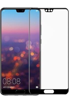 Telbor Huawei P20 Tam Kaplayan Ekran Koruyucu Cam