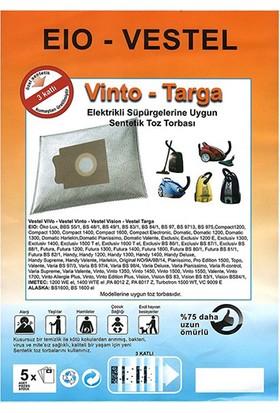 Vestel Eio Excluciv Uyumlu Toz Torbası