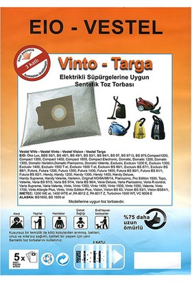 Vestel Eio Excluciv Bs 87/1 Uyumlu Toz Torbası