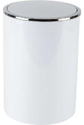 Primanova Lenox Çöp Kovası Beyaz 6 lt