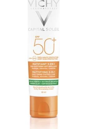 Vichy Capital Soleil Spf 50+ Matlaştırıcı Yüz Güneş Kremi 50 ml