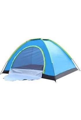 Onetick 4 Kişilik Otomatik Açılır Kamp Çadırı 190 x 190 x 130 cm