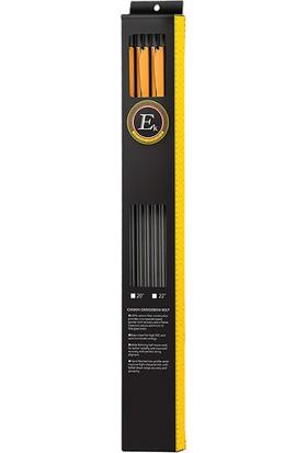 Ek Archery Research 30'' Karbon Değişebilir Çelik Uçlu Special Edition 6 Lı Ok Seti