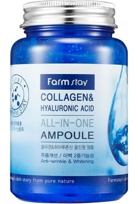 Farm Stay Collagen Hyaluronıc Acıd All-In-One Ampoule 250ML
