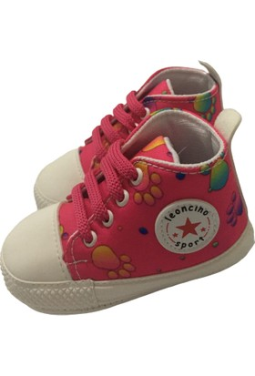 Acar Kız Bebek Spor Ayakkabı - Fuşya - 6-9 Ay