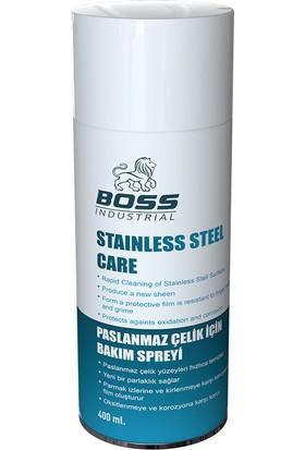 Boss Paslanmaz Çelik Bakım Spreyi Inox 400 ml