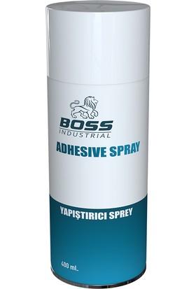 Boss Yapıştırıcı Sprey Extra Güçlü Şeffaf 400 ml