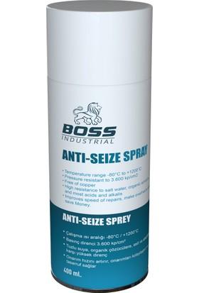 Boss Anti Seize Sprey Antrasit 400 ml