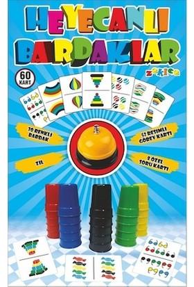 Kullan At Party Heyecanlı Bardaklar Renkli ve Hızlı Bardak Oyunu