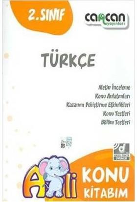 Cancan Yayınları Türkçe Konu Kitabım 2. Sınıf