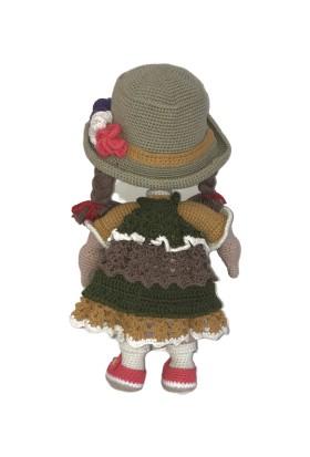 BK Store Amigurumi Organik El Örmesi Bebek - Şirine