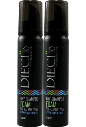 Dıecı 2'li Dry Shampoo 75 ml Foam