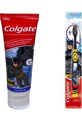 Colgate Batman Diş Macunu 75 ml + Colgate Batman Diş Fırçası