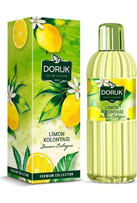 Doruk Limon Kolonyası 200 ml x 4 Adet