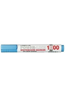 Lineplus Tahta Kalemi Yuvarlak Uç 3 mm 1000 Açık Mavi