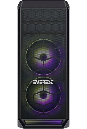 Everest Metafor K700 Rainbow Fan USB 3.0 Oyuncu Kasası