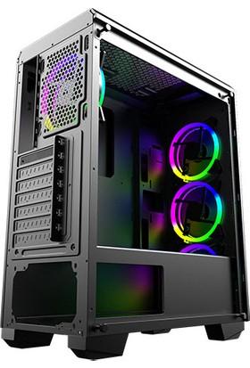Xigmatek EN43613 Beast X-Power 650W RGB Fan Oyuncu Kasası