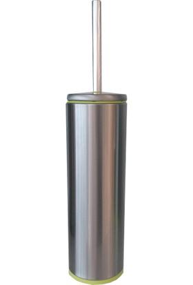 Primanova Cigo Tuvalet Fırçası Gümüş Yeşil