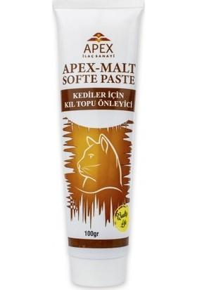 Apex Malt Softe Paste Kediler Için Kıl Topu Önleyici 100 G