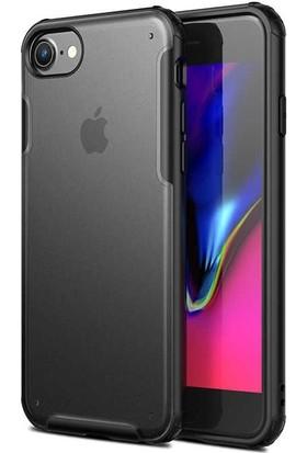 Teleplus Apple iPhone Se 2020 Kılıf Vonk Hibrit Sert Silikon + Nano Ekran Koruyucu
