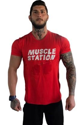 Musclestation Toughman Workout Fitness Tshirt