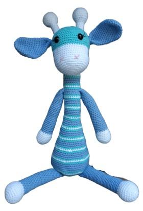 ÖRBİ Zürafa Amigurumi Organik Oyuncak (48 cm)