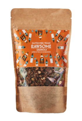 Rawsome Kayısı & Kakao & Çekirdekli Granola Glutensiz 250 gr