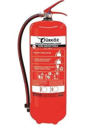 Türköz 6 kg (Köpüklü) Yangın Söndürme Tüpü