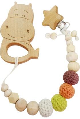 Gift For Baby Shop Akçaağaç Renkli Hipo Diş Kaşıyıcı