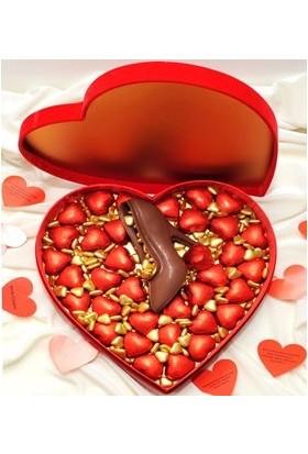 Ferlife Ayakkabılı Kalp Kutu Çikolata