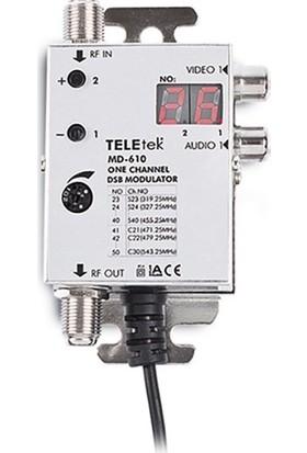Teletek MD-610 Kamera Modülatör ( 1 Kamera )
