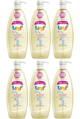 Uni Baby Şampuan 900 ml x 6 Adet