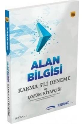 Murat Alan Bilgisi Karma 5 Li Deneme Ve Çözüm Kitapçığı
