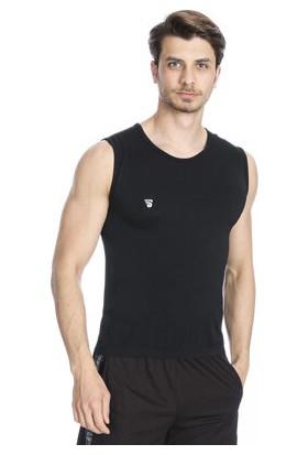 Sportive Seamless Erkek Siyah Basketbol Atleti TKE1042-00S
