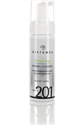 Histomer Akneli Ciltler Için Temizleme Köpüğü - Green Age 201 Dermal Cleanser 150 ml